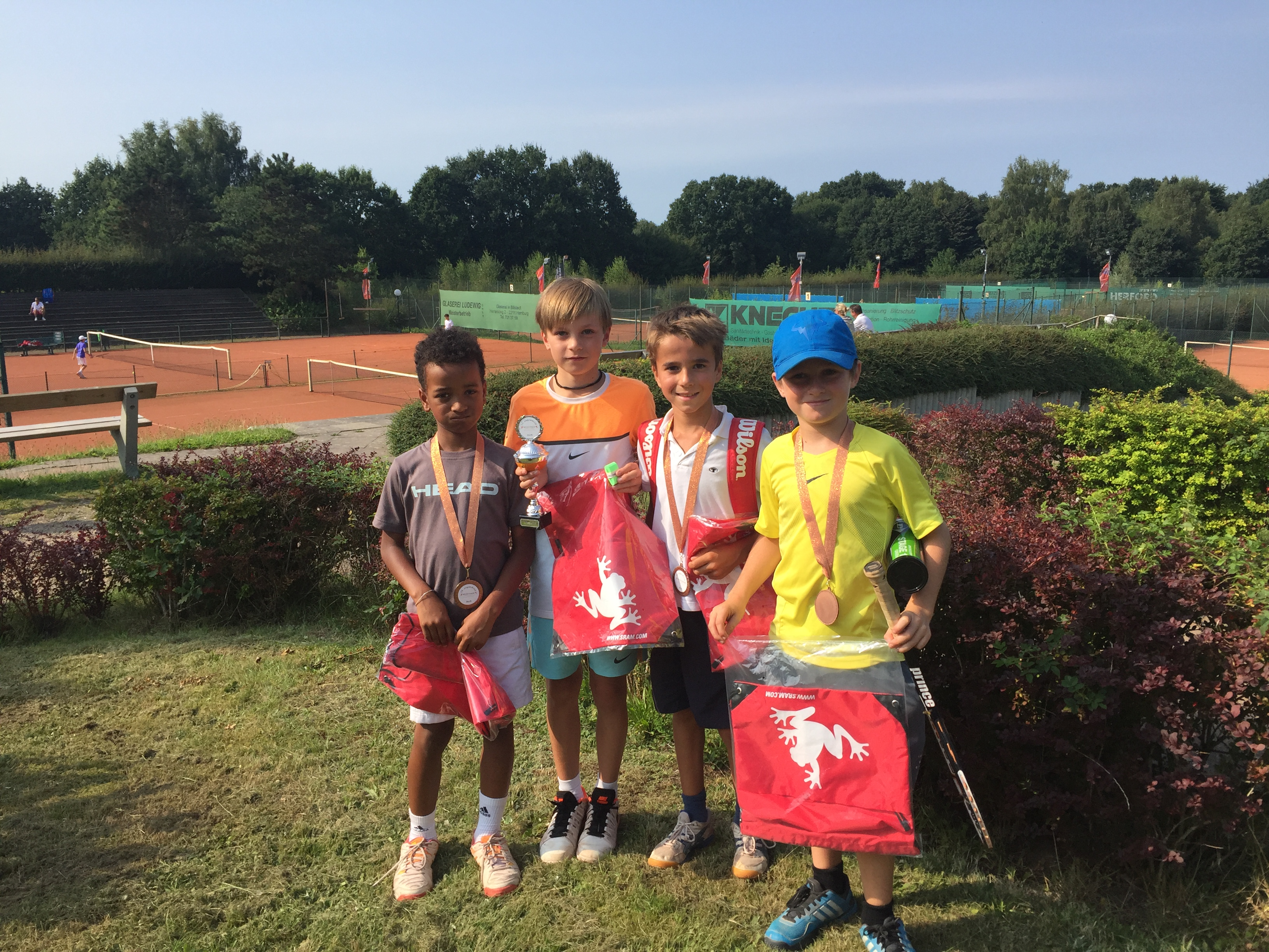 13. Jugendcup – Tennis Jugendturnier vom 25. – 28. August 2016