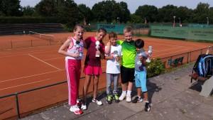 Tennis Jugendturnier im Sportpark Öjendorf