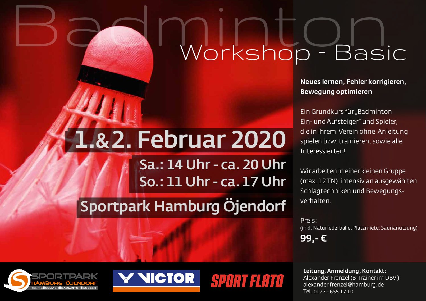 Badminton Workshop Basic