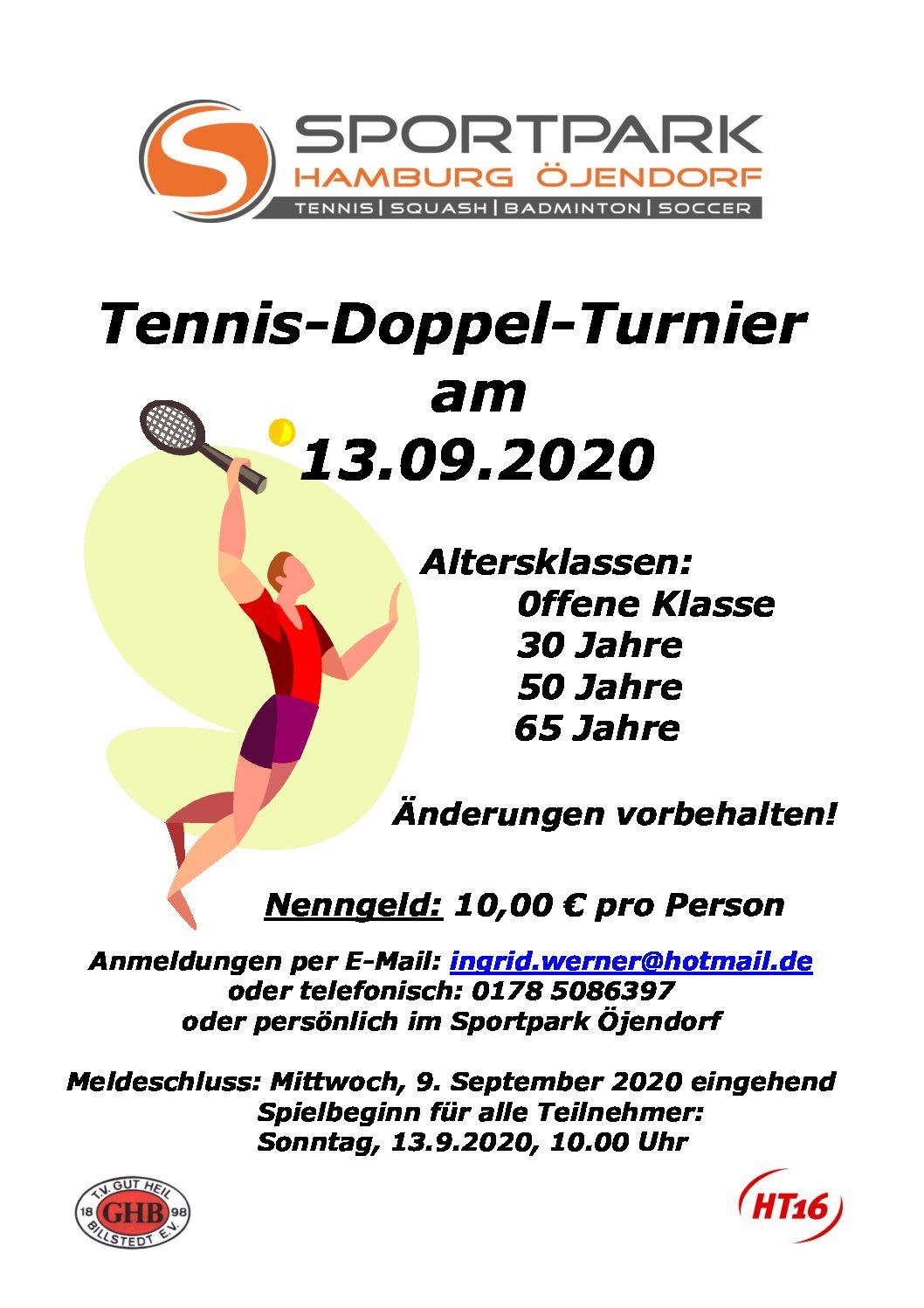Tennis Doppelturnier